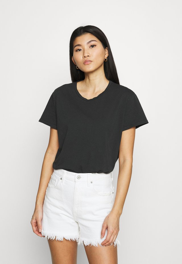 LISA - T-shirt basic - antracite