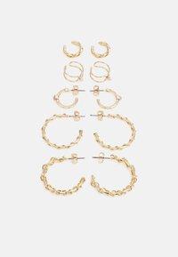 Fire & Glory - ELLIE EARRINGS 5 PACK - Earrings - gold-coloured - 0