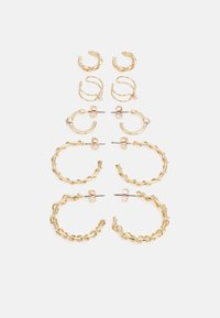 ELLIE EARRINGS 5 PACK - Earrings - gold-coloured