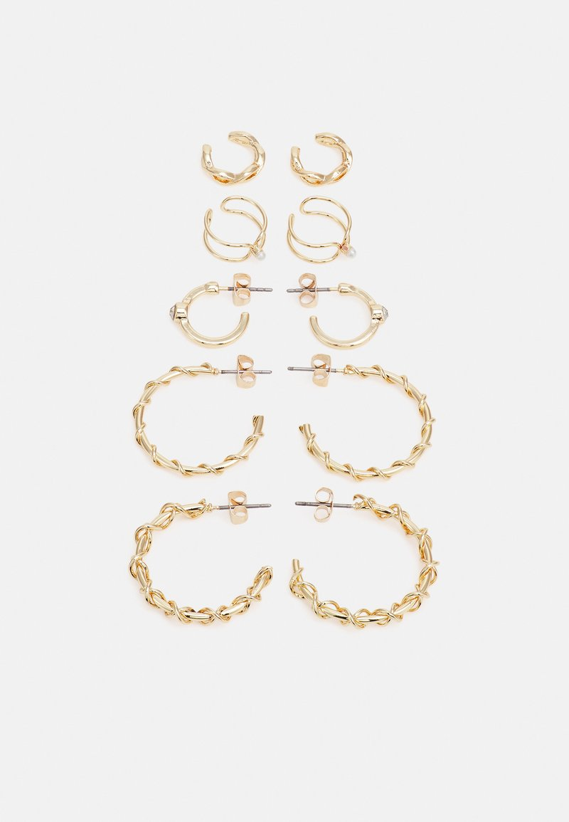 Fire & Glory - ELLIE EARRINGS 5 PACK - Earrings - gold-coloured
