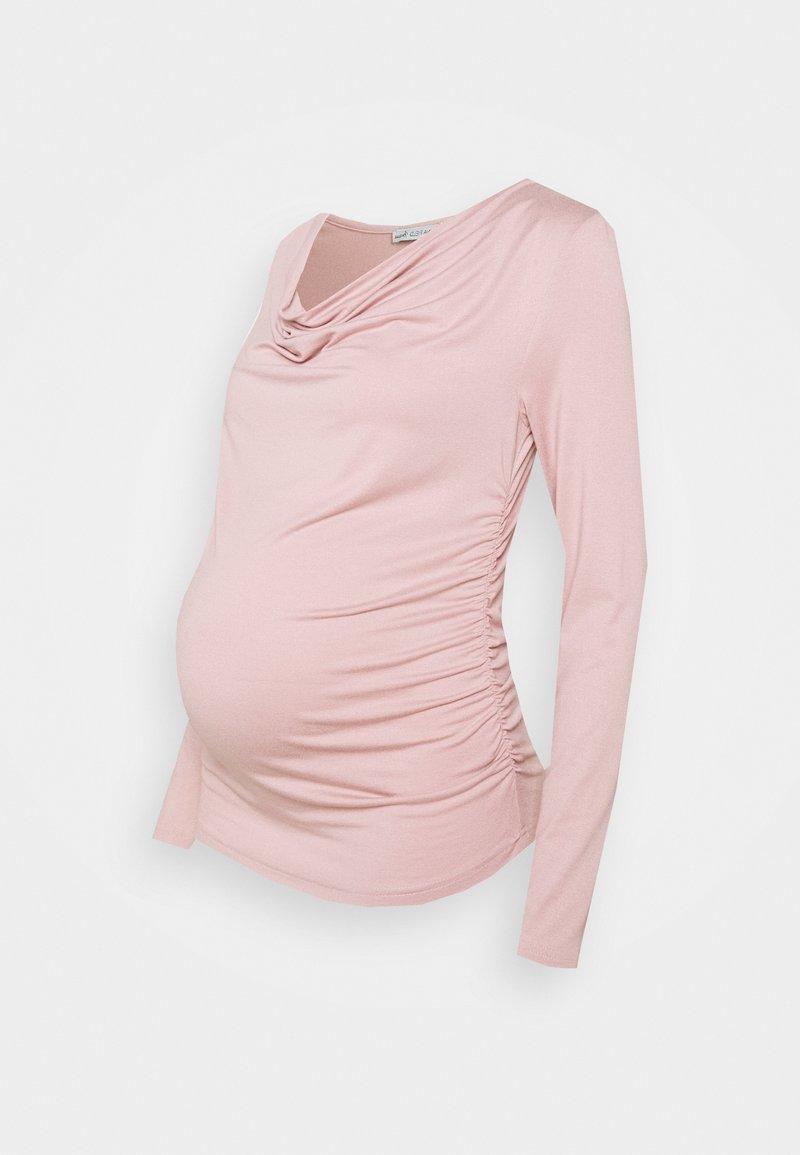 Anna Field MAMA - Top sdlouhým rukávem - light pink