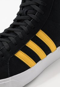 adidas Originals - BASKET PROFI - High-top trainers - core black/bold gold/footwear white - 5
