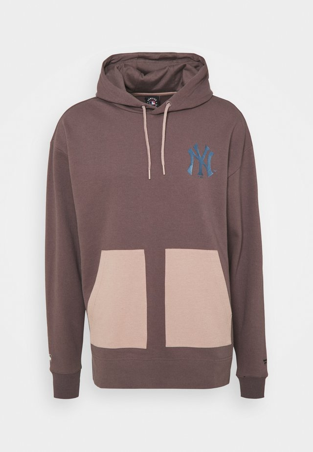 MLB NEW YORK YANKEES DIFFUSION OVERHEAD HOODIE - Sweater - sparrow