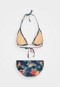 Brunotti - LOLLYPOP FLOWER WOMENS SET - Bikini - deep blue - 12