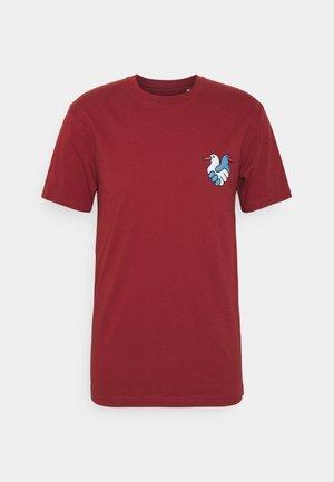 TRUST - T-shirts print - rosewood
