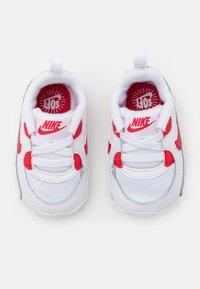 Nike Sportswear - MAX 90 CRIB - Patucos - white/hyper red - 3