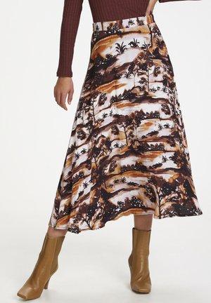 SLENDZELA  - A-line skirt - landscape