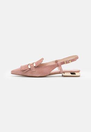 GEMMA - Slingback ballet pumps - malva