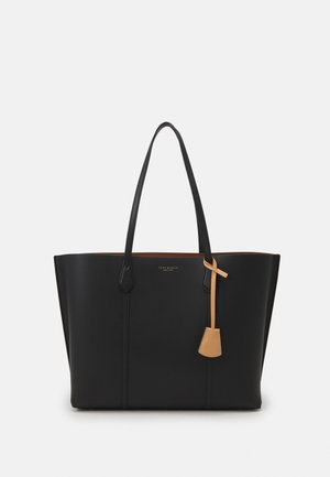 PERRY TRIPLE COMPARTMENT TOTE - Tote bag - black