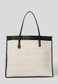 KARL LAGERFELD - Tote bag - black white - 1