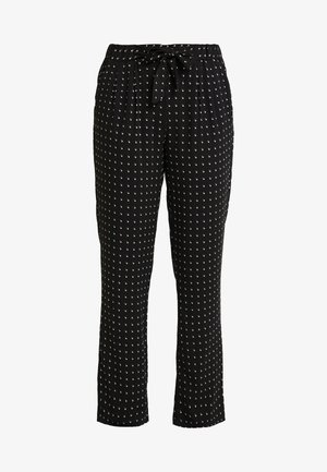 ALETA - Trousers - black combi