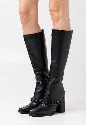 PHOENIX - High heeled boots - black