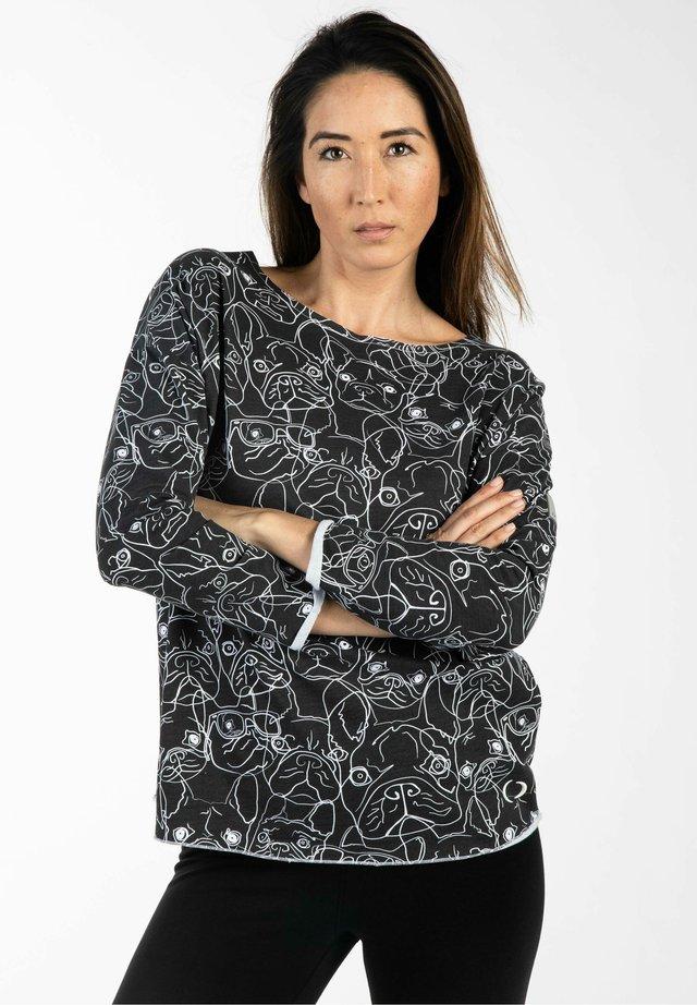 SOPHINA - Long sleeved top - dark grey