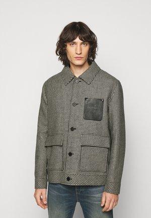 BLOUSON - Light jacket - black/off-white