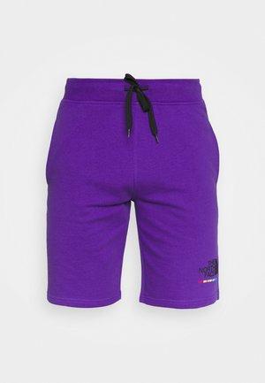 RAINBOW SHORT - Sports shorts - peak purple