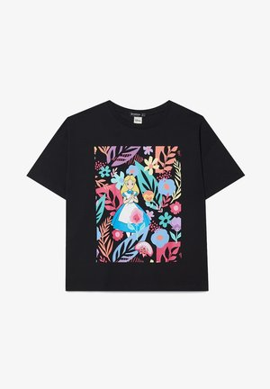 ALICE  - Print T-shirt - black