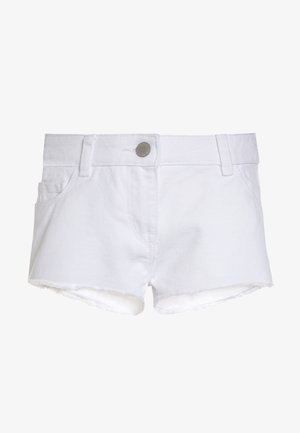 FRAYED HEM  - Shorts di jeans - white