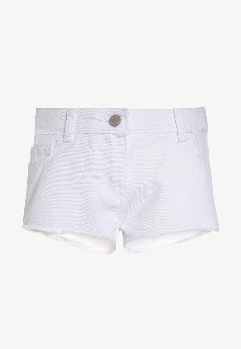 Next - FRAYED HEM  - Denim shorts - white
