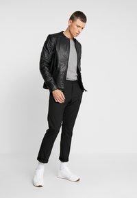 Chevignon - RIDE - Leather jacket - noir - 1