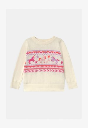 TODDLER GIRL  - Maglione - ivory frost