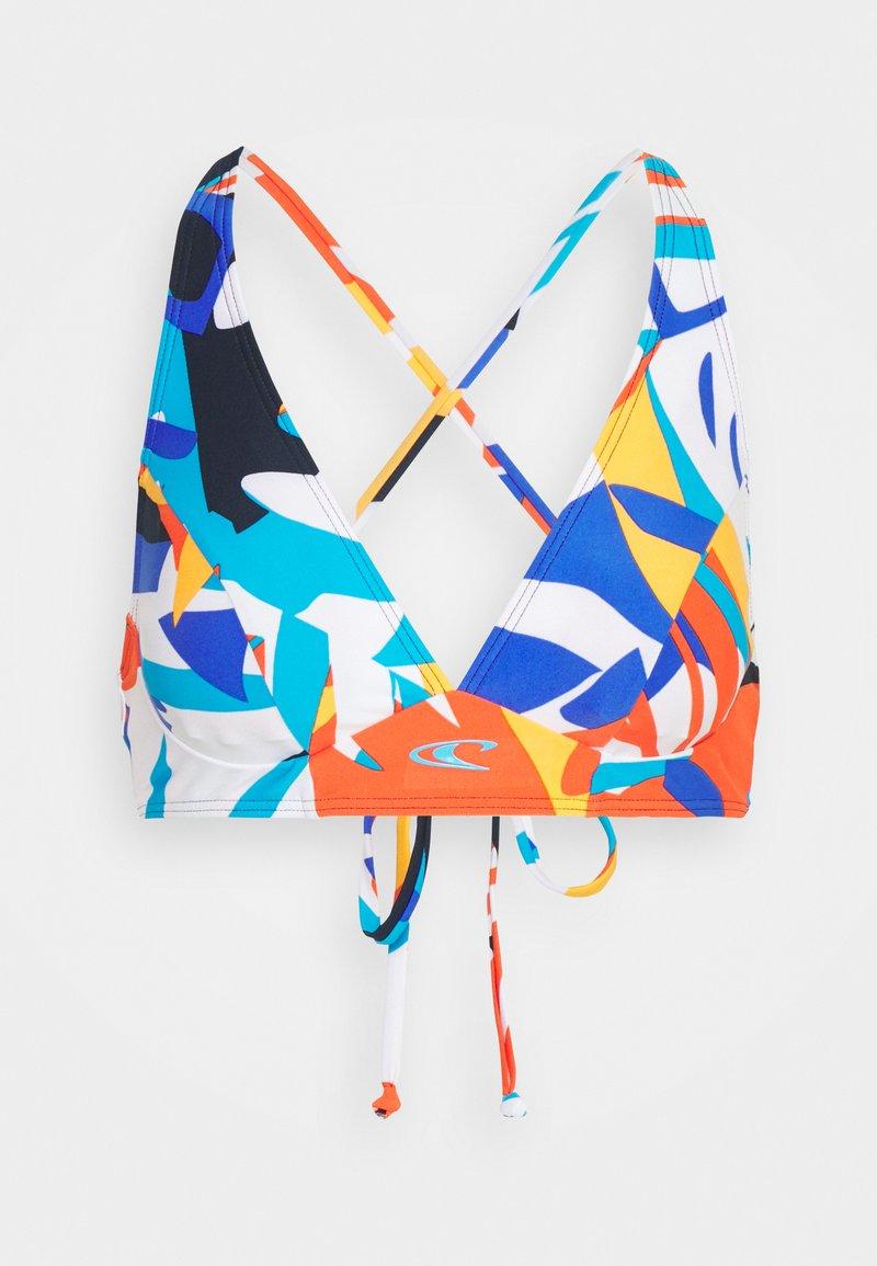 O'Neill - PW KAILUA SUPERKINI - Bikini top - blue/red