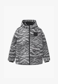 SuperRebel - TECHNICAL UNISEX - Snowboardová bunda - off-white/black - 0