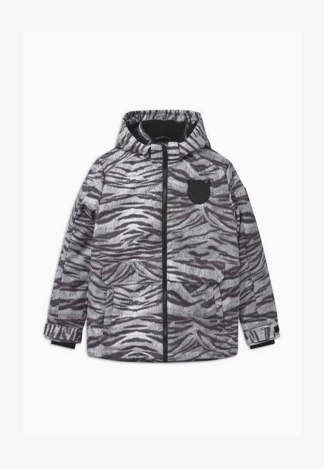 TECHNICAL UNISEX - Snowboard jacket - off-white/black