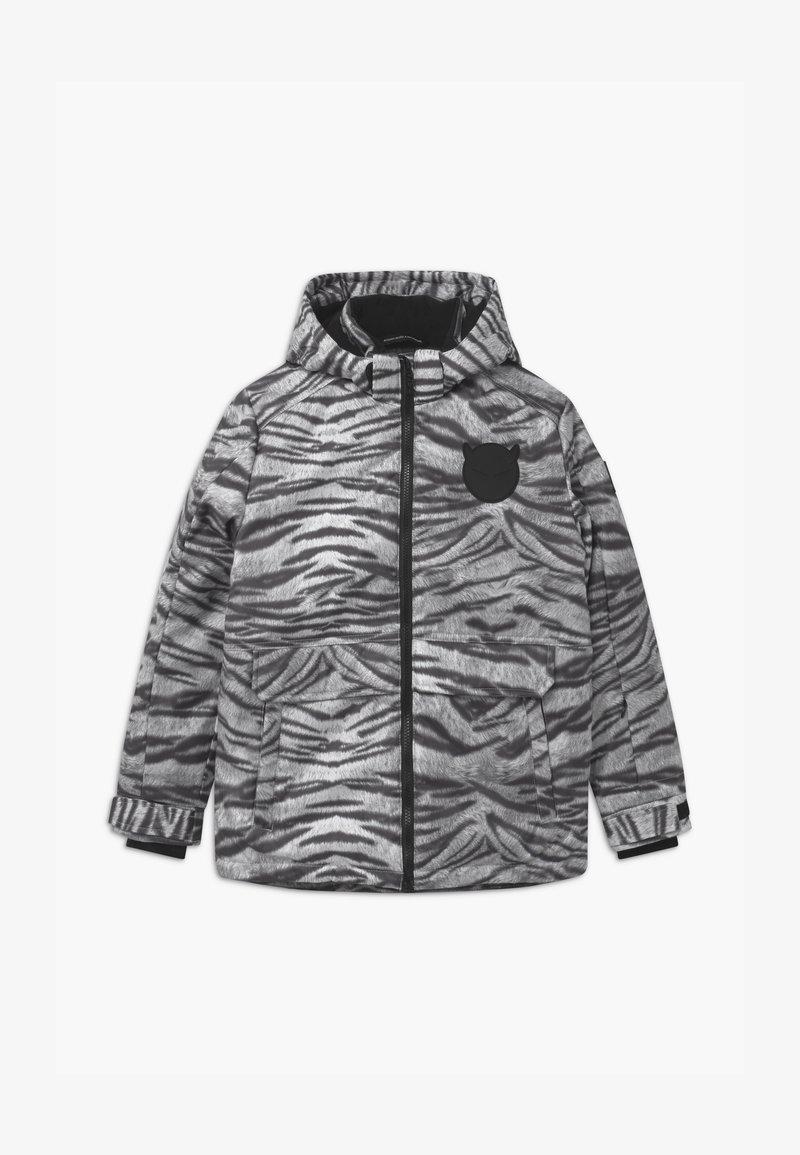 SuperRebel - TECHNICAL UNISEX - Snowboardová bunda - off-white/black