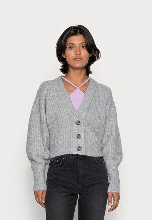 KAYLA CARDIGAN - Cardigan - grey melange