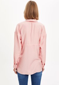 DeFacto - Button-down blouse - pink - 2