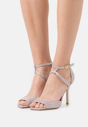 ANASTASIA  - High heeled sandals - rosewater