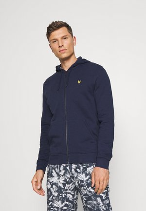 ZIP THROUGH HOODIE - Sweater met rits - navy