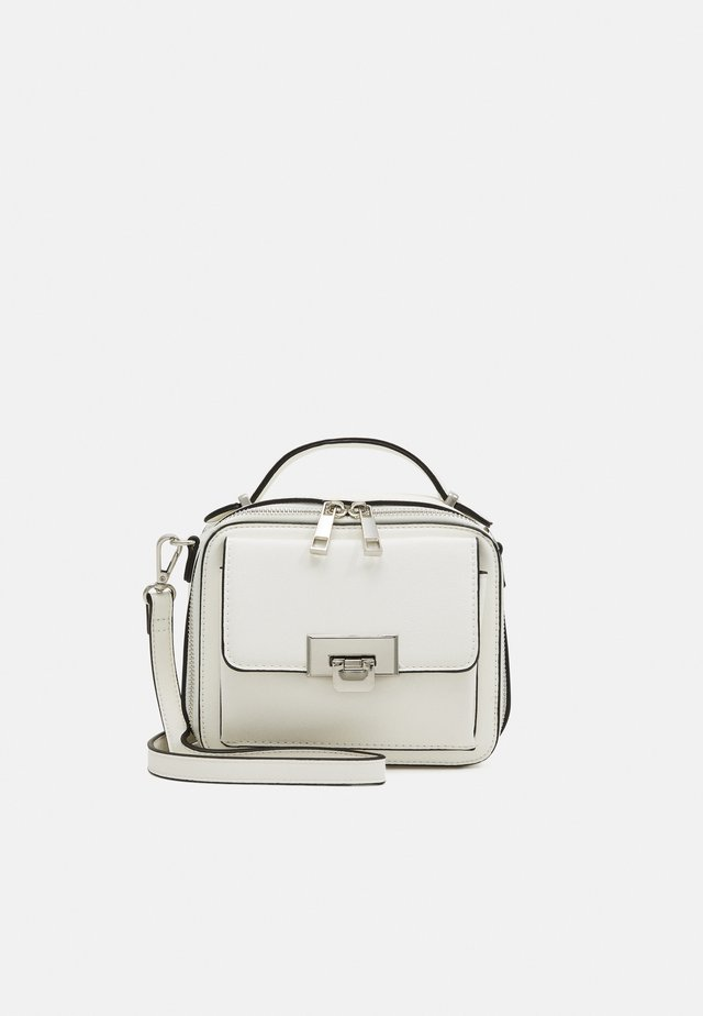 ELLANE - Handbag - bright white/silver