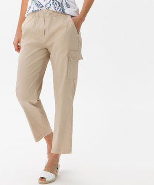 STYLE MORRIS S - Trousers - warm sand