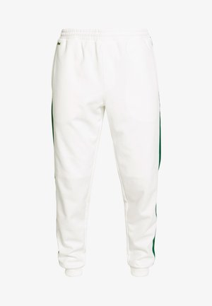 Tracksuit bottoms - flour/green