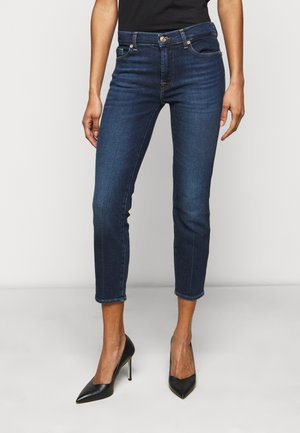 ROXANNE ANKLE LUXE VINTAGE POWERTRIP - Jeansy Skinny Fit - dark blue
