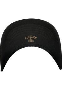 Cayler & Sons - Cap - black/gold - 4