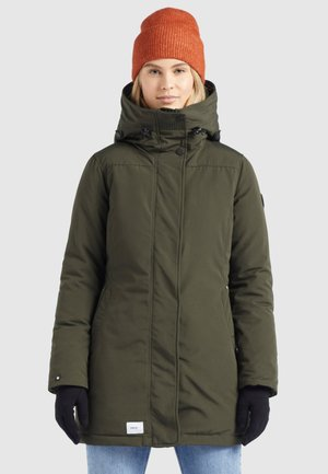 KANDA - Winter coat - dunkeloliv