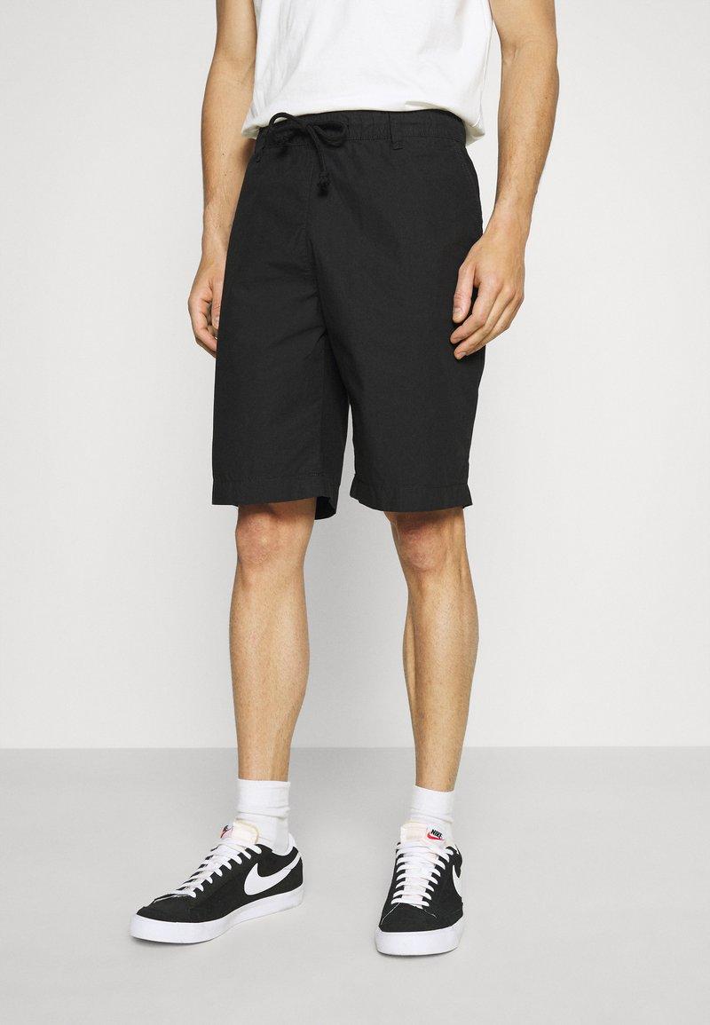 TOM TAILOR DENIM - Shorts - black