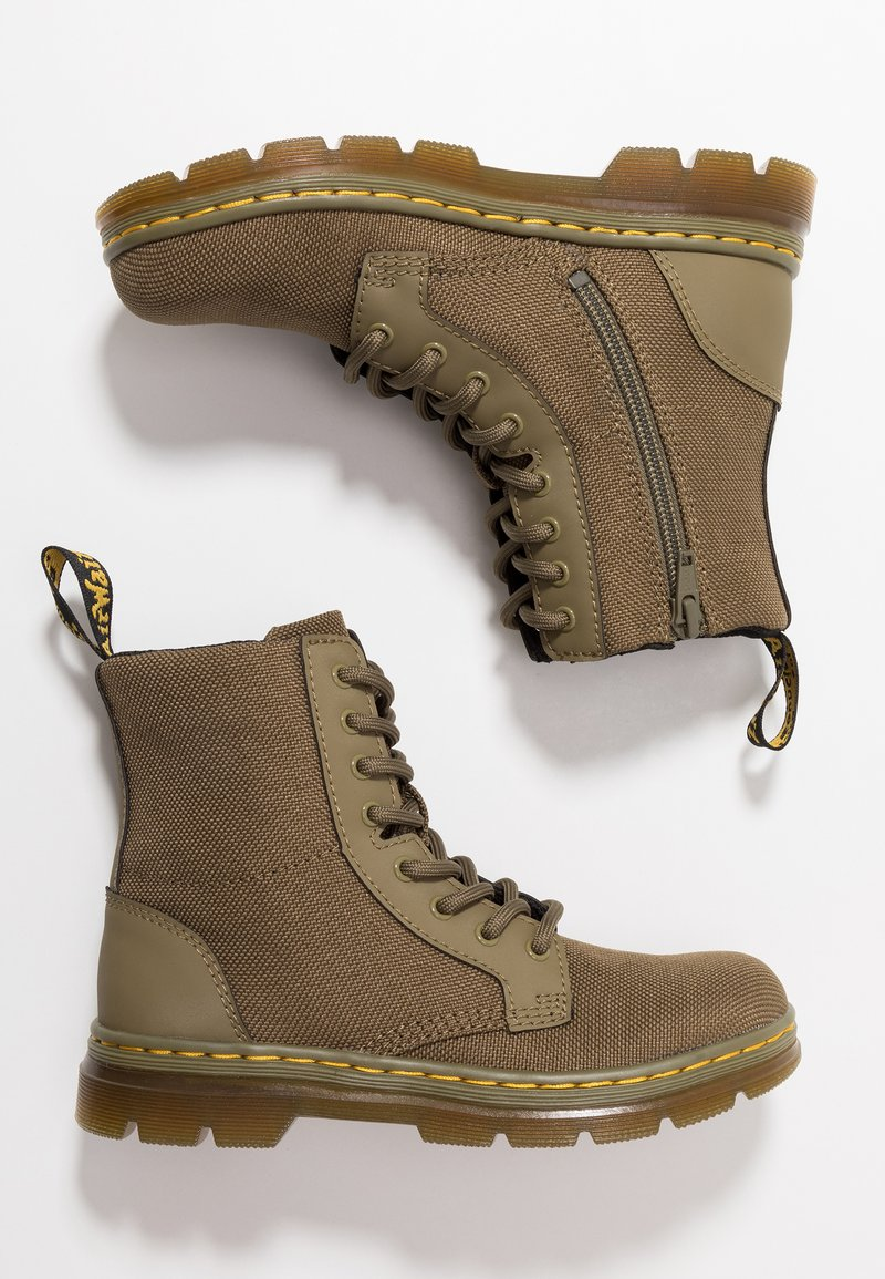 Dr. Martens - COMBS - Lace-up ankle boots - olive