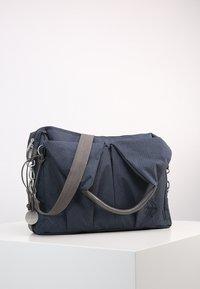 Lässig - NECKLINE BAG SPIN DYE - Borsa fasciatoio - blue mélange - 2