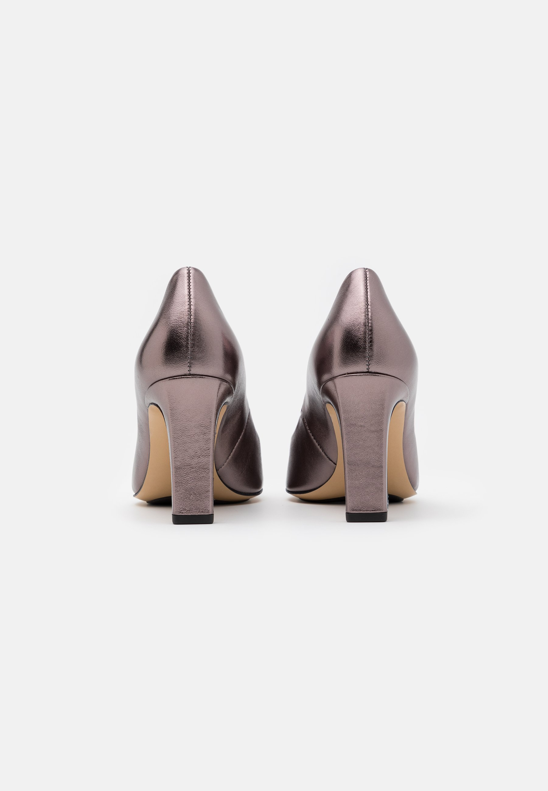 Högl High Heel Pumps metallic silber/bronze