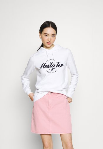 CHAIN TECH - Sweatshirt - white