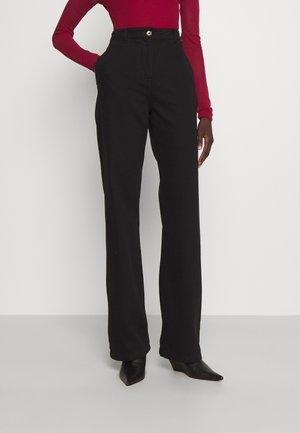 PANTALONI TROUSERS - Jeans straight leg - nero