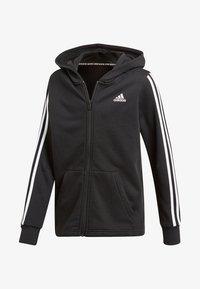 adidas Performance - veste en sweat zippée - black - 0