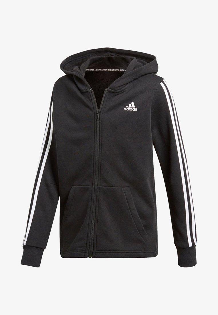 adidas Performance - veste en sweat zippée - black