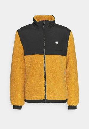 Fleece jacket - blazing sand