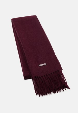 SCARF UNISEX - Scarf - deep burgundy