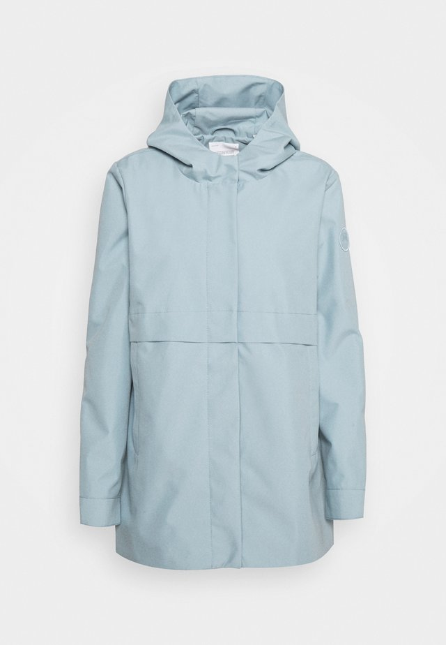 URBAN AWARENESS SHORT HOODED - Short coat - asley blue