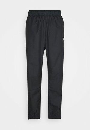 TRACK PANT UNISEX - Pantalones deportivos - black/off noir